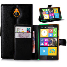 Free Shipping Luxury Flip Wallet Leather Case For Nokia X2 Android Phone Bag Cover With Stand & Card Slots For Nokia X2 Case