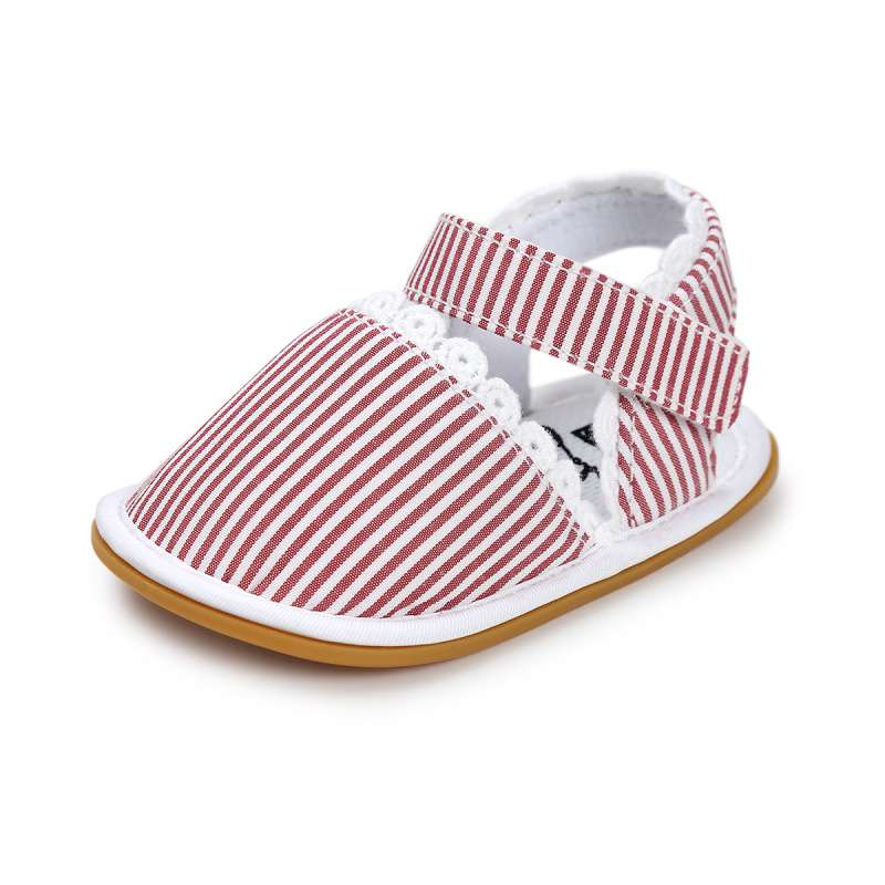 2017 Nyeste mote Baby Girls Jenter Retro trykte First Walker Toddlers Kids Cute Soft Bottom Toddler Shoes