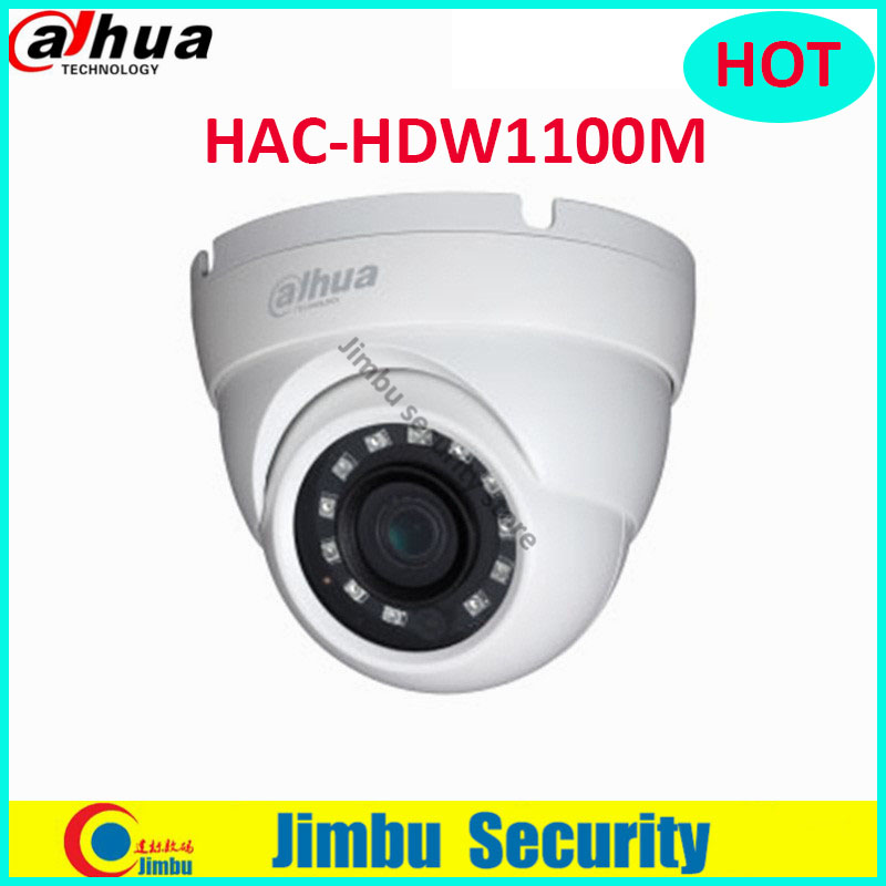 Original Dahua 1 MP High Defiantion Night Vision IR30M IP67 Dome CCTV Camera security camera DH-HAC-HDW1100M