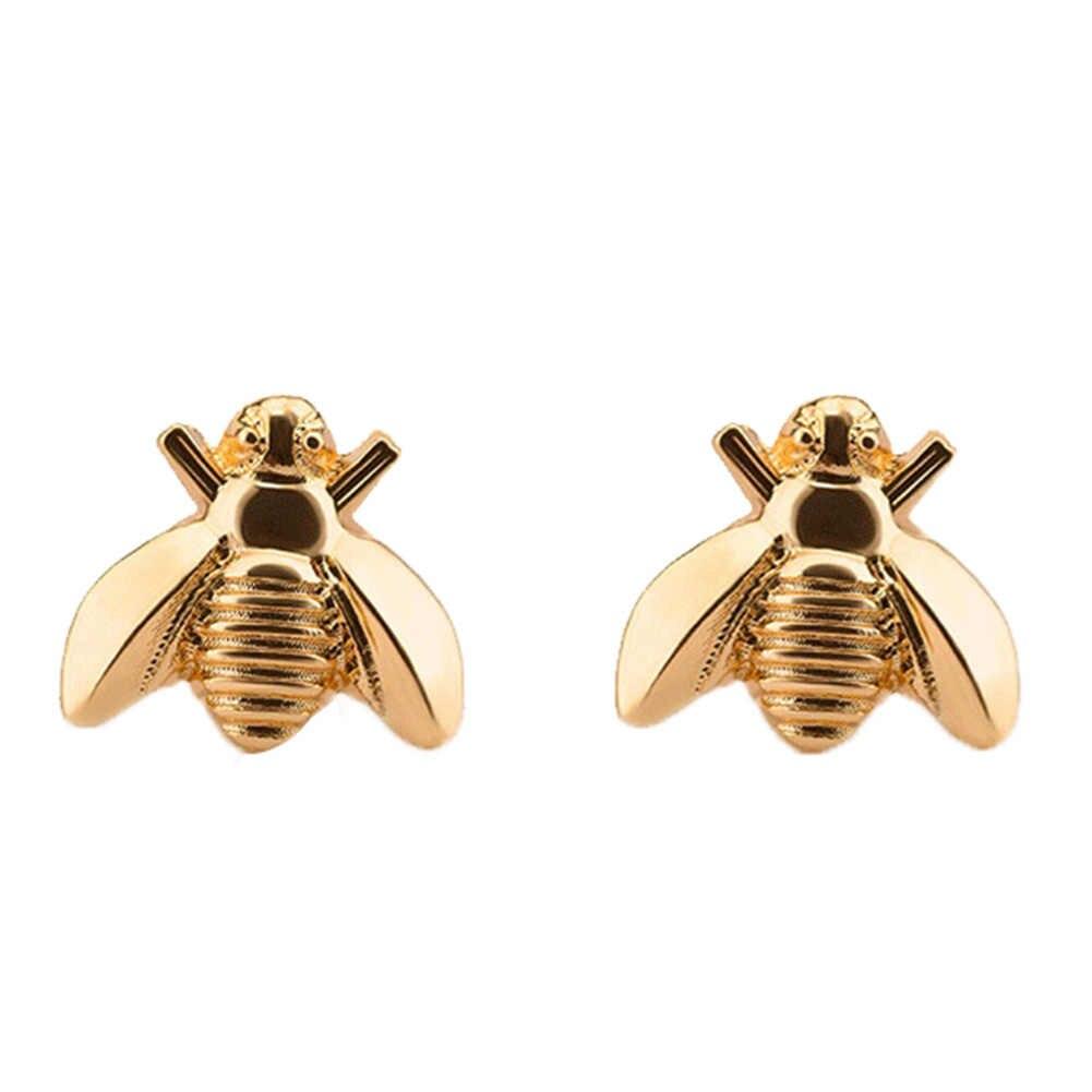 חמוד זעיר דבורה עגיל תכשיטי זהב/כסף צבע דבש דבורת עגילי הרבעה ייחודי עגילי תכשיטי עבור נשים