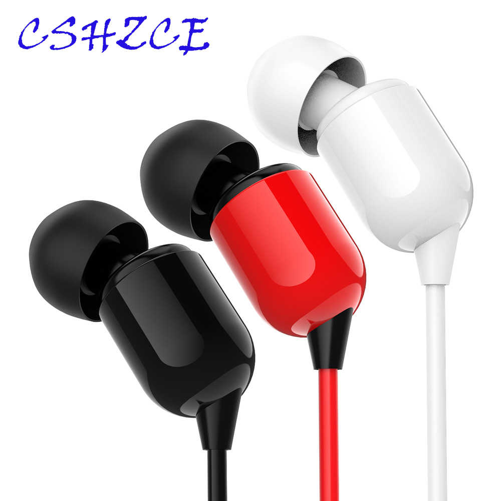 High Quality 3M Long Earphones in ear Wired Earphone Monitor Headphone 3.5mm Stereo Music Headset for xiaomi iphone 5 6 Phone