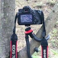Portable Phone Camera Holder Flexible Octopus Travel Tripod Bracket Monopod Selfie Stick For Mobile Phone Camera
