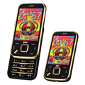 BLT N95 слайдер старший мобильный телефон вибрации сенсорный экран волшебный голос мобильный телефон Dual SIM карты MP3/MP4 FM мобильный телефон P079