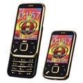 Blt deslizador n95 teléfono móvil mayor vibración voz mágica teléfono móvil dual sim cards pantalla táctil mp3/mp4 fm celular teléfono p079