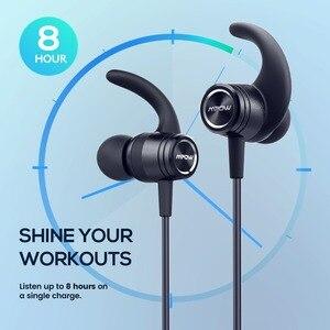 Image 3 - Mpow S10 IPX7 למי אוזניות ספורט Bluetooth 4.1 אוזניות מגנטיות 8H זמן משחק אוזניות עבור iPhone Xiaomi SONY