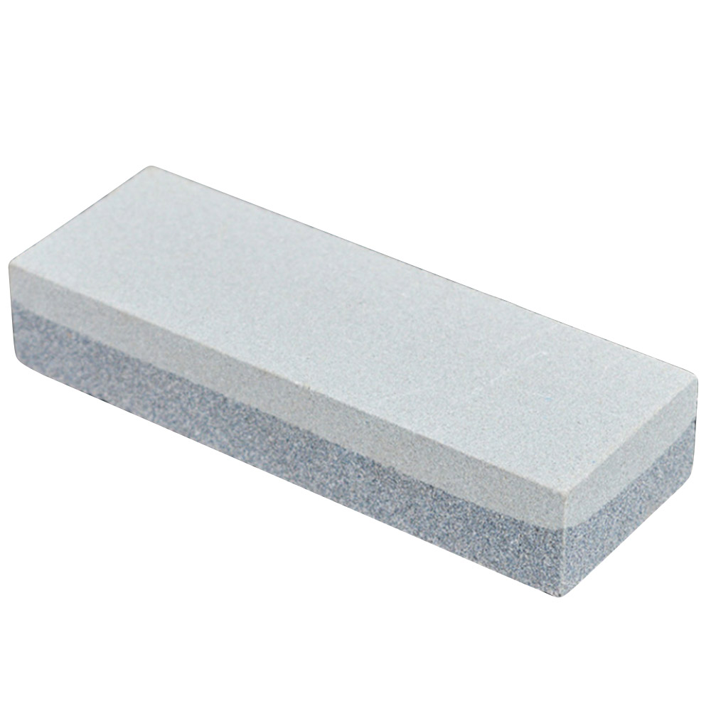 Professional Kitchen Knife Sharpener Stone Double Side White Corundum Whetstone Grindstone Sharpening Tool Supplies