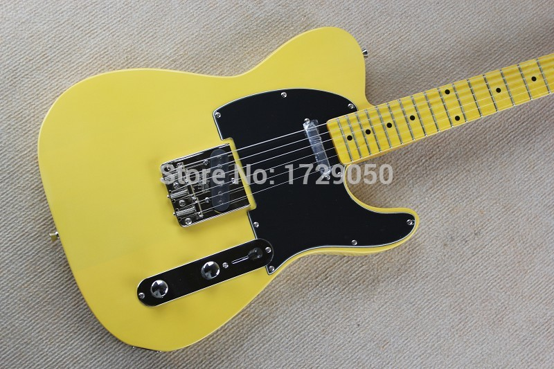 free shipping china Custom shop Top Quality Vintage 52 TL Reissue - Butterscotch 52 Yellow tl Electric Guitar in stock 930