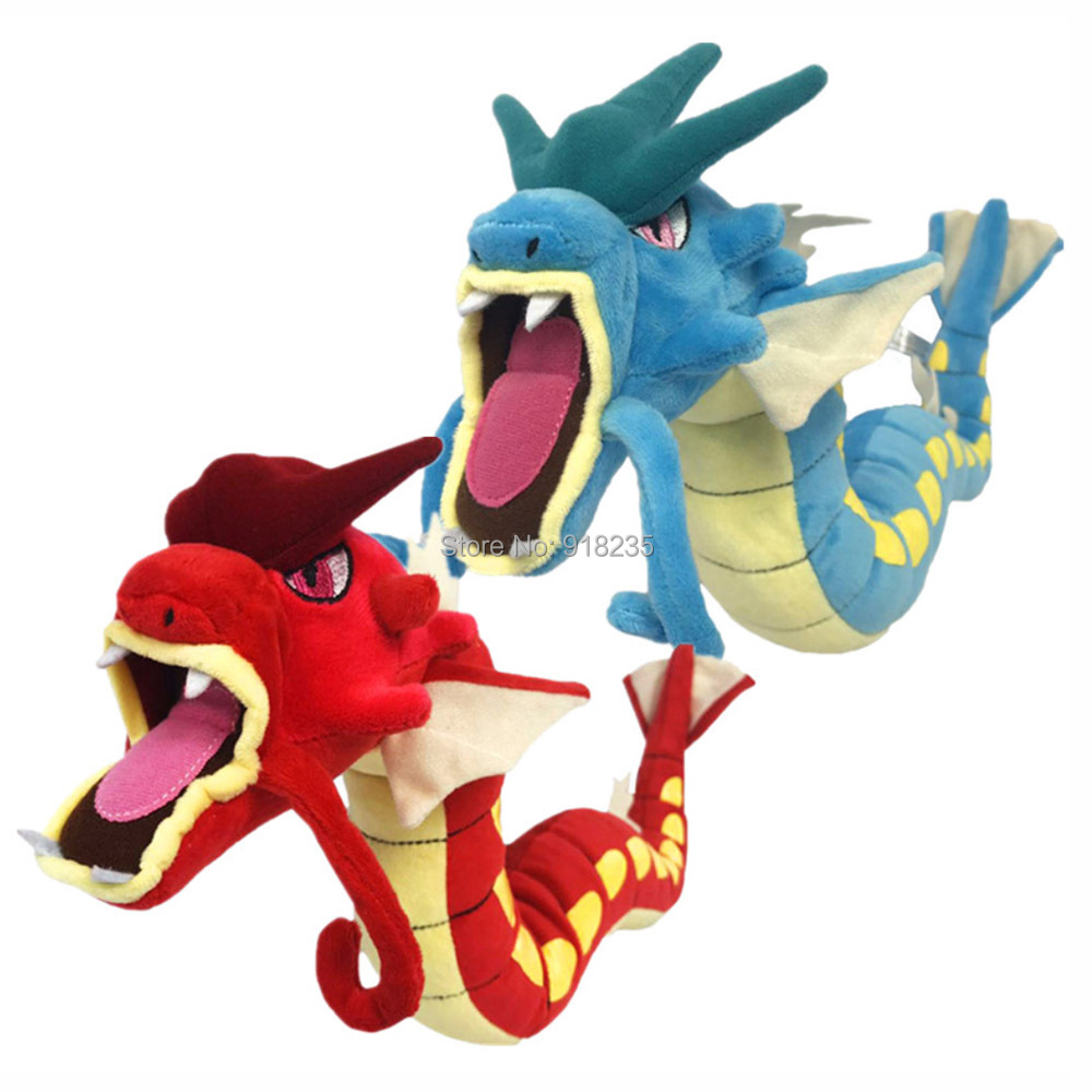 10 Lot 2 Style Gyarados Blue Red 22 Plush Doll Soft Party Gifts For Children Stuffed