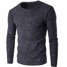 Pullover Männer 2017 Marke Pullover Casual Pullover Männlich O Kragen solide Einfache Slim Fit Strick Herren Pullover Mann Pullover Männer S