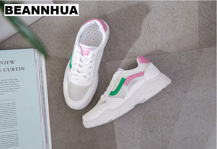 BEANNHUA 2018 new arrival running shoes for women top quality sneakers for lady student s sport