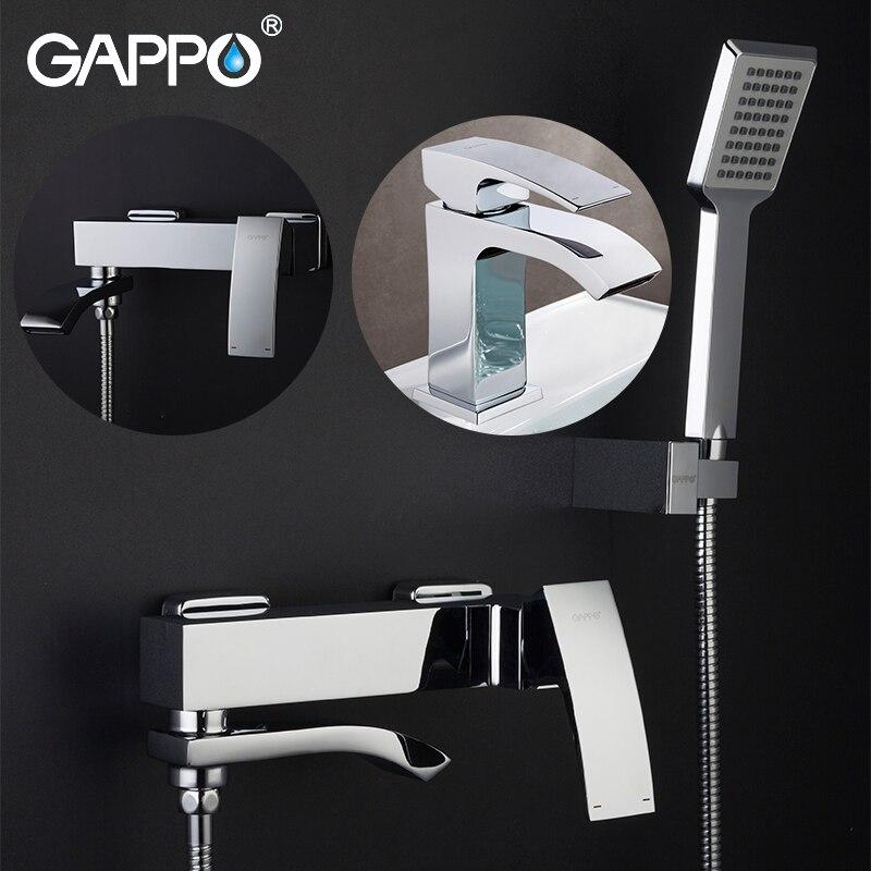 GAPPO Смесители для ванны хромированные смесители для ванны смеситель раковины кран для раковины