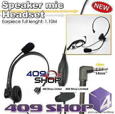4-027Y Спикер-микрофон Гарнитуры с PTT (Y разъем)