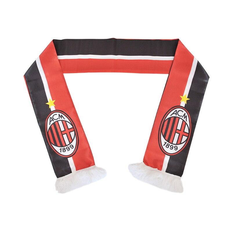 145*15 см Размеры Associazione Calcio Milan Футбол команда шарф для любителей ...