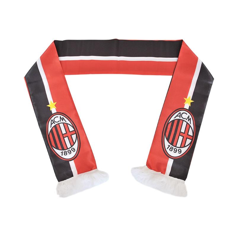 145*15 cm Size Associazione Calcio Milan Football Team Scarf for Fans ...