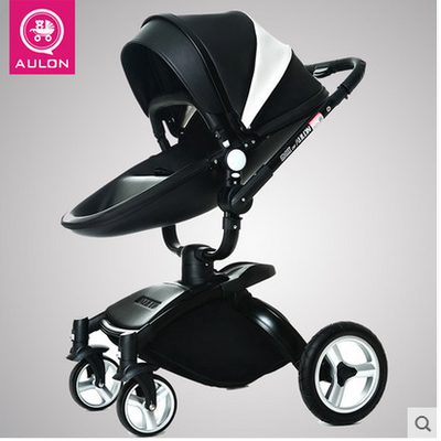 European Baby Strollers Hk Free !brand Baby Strollers Carriage Pram Light Car Eu Export Leather 0-3 Years 5 Colors Free Gifts 2018 baby strollers brand baby 2 in1 pram baby carriage many colors for choice