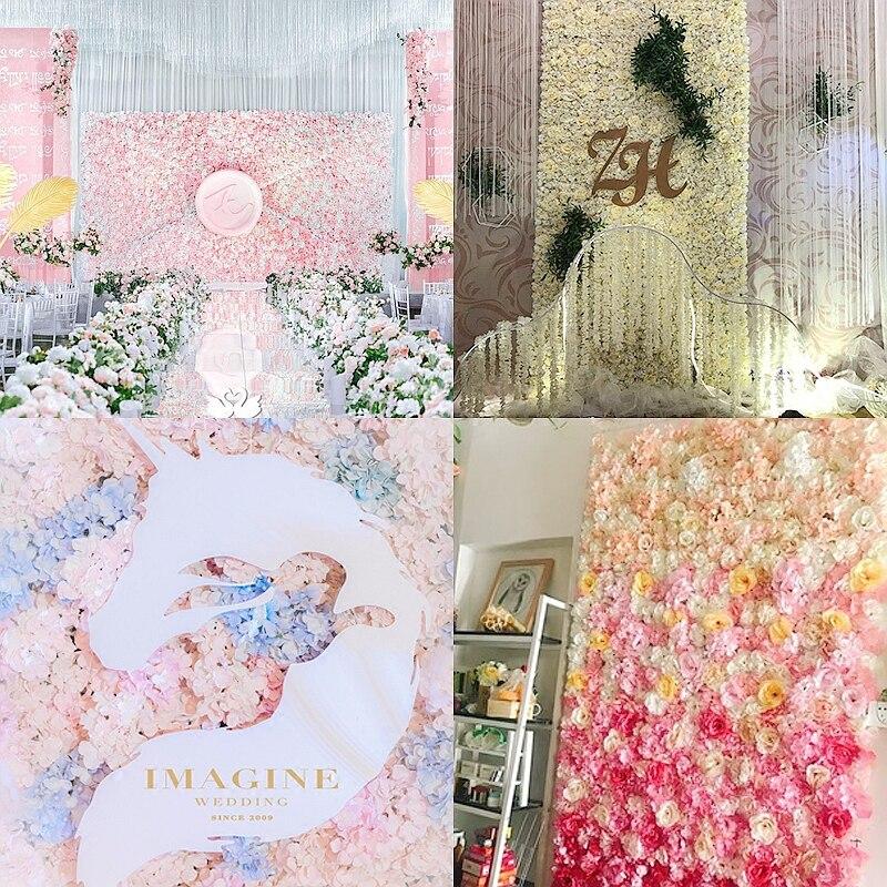 Hohe Qualitat 40x60 Cm Silk Rose Kunstliche Blumen Hochzeit