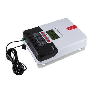 MPPT 60A Авто 3200 Вт PV Контроллер заряда в режиме реального времени контроль заряда Регулятор менеджер с Modbus ЖК-дисплей для литиевых летучих мыш...
