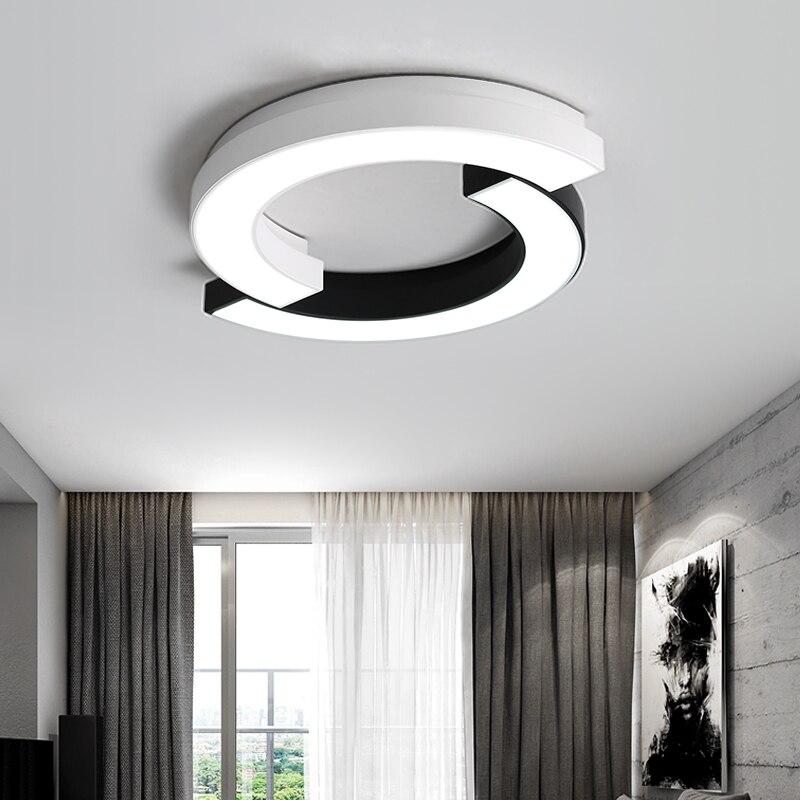 Modern round Acrylic living room chandelier Fixtures LED Lustre bedroom restaurant Dimmable Chandeliers Lighting lamps Fixture
