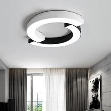 ФОТО modern minimalist living room lamp nordic creative round acrylic chandelier study led lustre lamps bedroom dimmable chandeliers