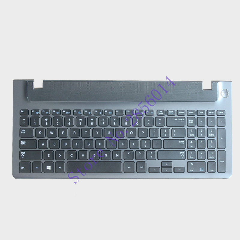 New English laptop keyboard with frame for Samsung 355V5C 350V5C 355 V5X NP355V5C NP350V5C US keyboard layout