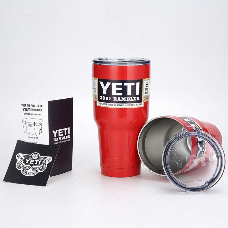 <font><b>YETI</b></font> <font><b>Tumbler</b></font> <font><b>Cups</b></font> <font><b>30</b></font> oz/900ml <font><b>YETI</b></font> <font><b>Rambler</b></font> <font><b>Cooler</b></font> Vacuum Insulated Vehicle Coffee Beer Mug <font><b>Cups</b></font>