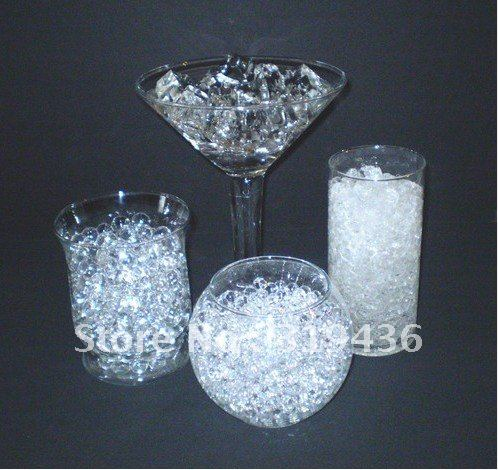 Colorful Crystal Water Beads Pearl For Vase Filler Decoration Free
