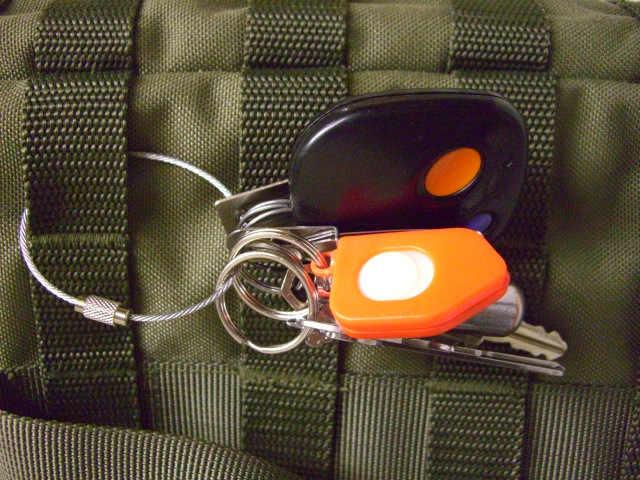Многофункциональный проводной брелок для ключей в виде троса и проволоки из нержавеющей стали, 10 шт./лот, 5 размеров, Y21