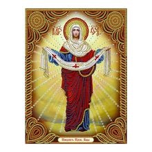 Religion Diamond Painting Partial Round Portrait New DIY Sticking Drill Cross Embroidery 5D simple embroidery