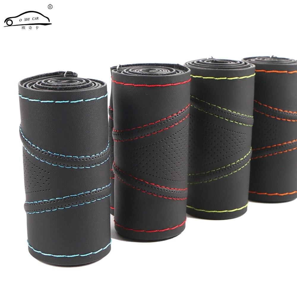 Super anti-usure De Volant de Voiture Couvre/Universel 38 cm En Trois Dimensions Respirant Anti-slip steering-Roue manches Protecteur