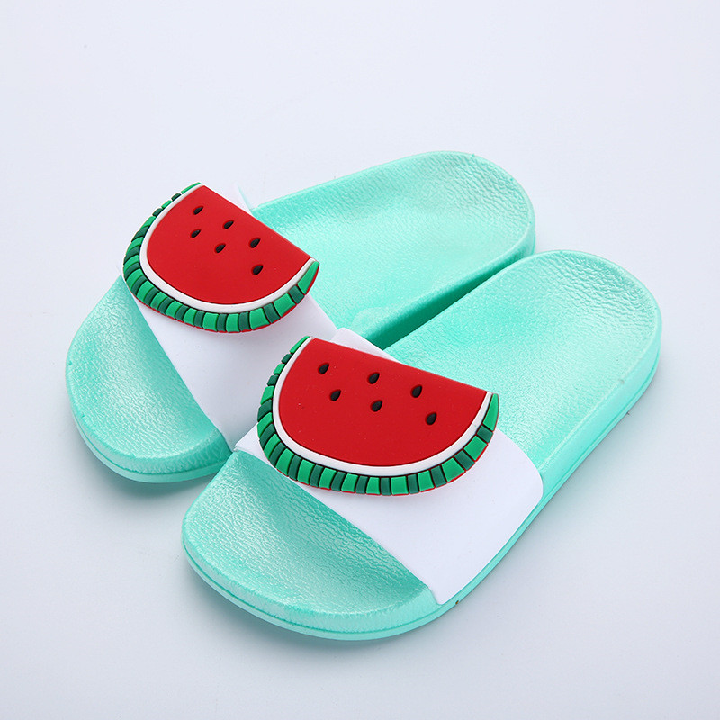 f17e961176a6 Children s Summer Slippers Boys GirlsToddler Water Childs Flip Flops  Barefoot Child Fruit Shoes Swimming For Kids Baby Shoeses-in Slippers from  Mother ...