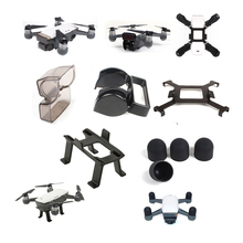 Landing Gear Legs with Motor Cap, Gimbal Lens Cover and Propeller Lock Prop Locks and Sunshade DJI SPARK Accessories kit