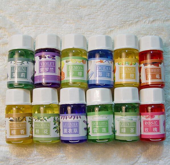 3mlx6 Base de Perfume Olor Aroma Aceite Esencial Jabón Hecho A Mano DIY Hecho A Mano Suministros de 6 Sabores