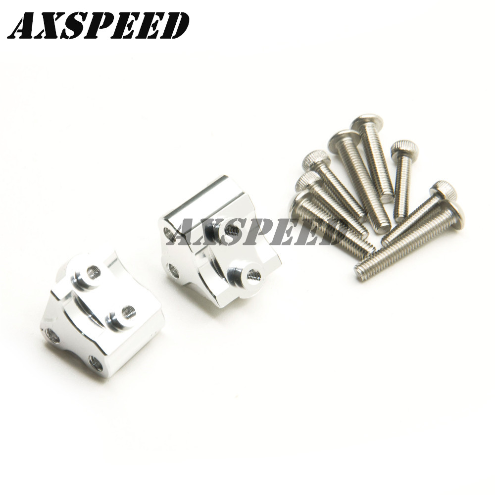 Alloy Metal Lower Link Shock Mount For Axial SCX10II 90046 90047 1//10 RC Crawler