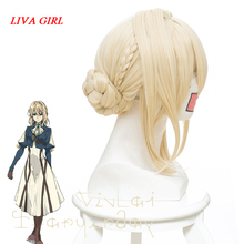 Violet Evergarden Cosplay Wig Evergarden Cosplay Wig Yellow Resistance Costume Party Wigs Claudia Hodgins All number