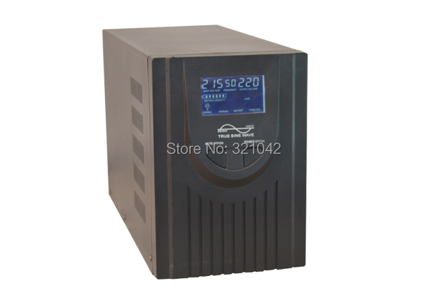 Industrial Level low frequency 1000VA/700W DC24V to AC220V Pure Sine Wave Solar Inverter with charger UPS