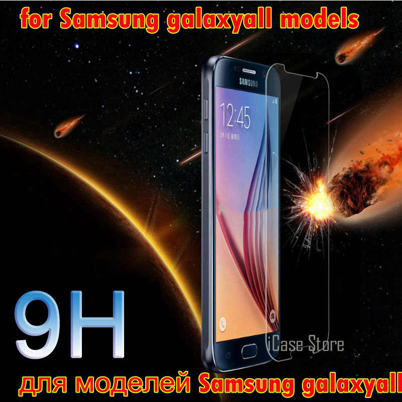 מזג זכוכית עבור Samsung Galaxy מקרה וsklo גרנד ראש Core S6 S5 S4 S3 G355H G530 G360 GT i9082 S7562 a3 A5 J1 J3 J5 J7 2016