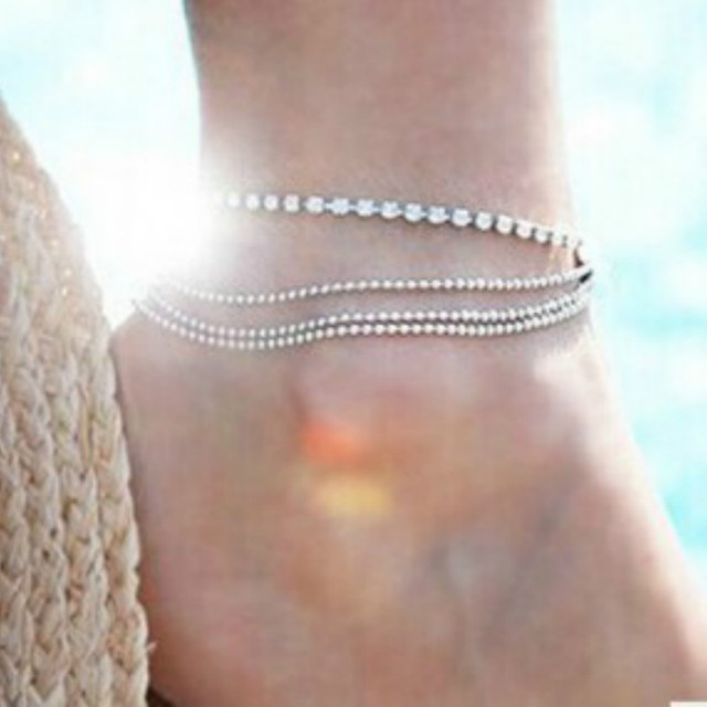 New Boho Collares Vintage Bohemios Ankle Bracelet For Women Barefoot Sandals Beach Foot Jewelry Ankle Summer Beach tornozeleira 4