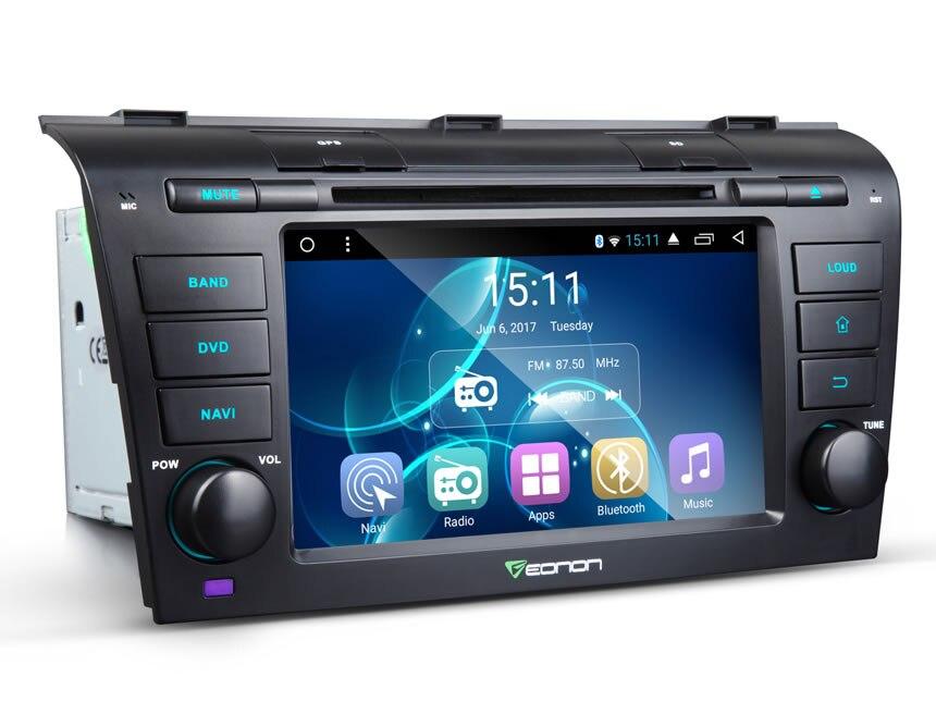 7 «4 ядра 2 ГБ Оперативная память ОС Android 6.0 Специальный автомобиль DVD для Mazda 3 2004-2009 с двойной canbus Системы и звук Bose Системы Поддержка