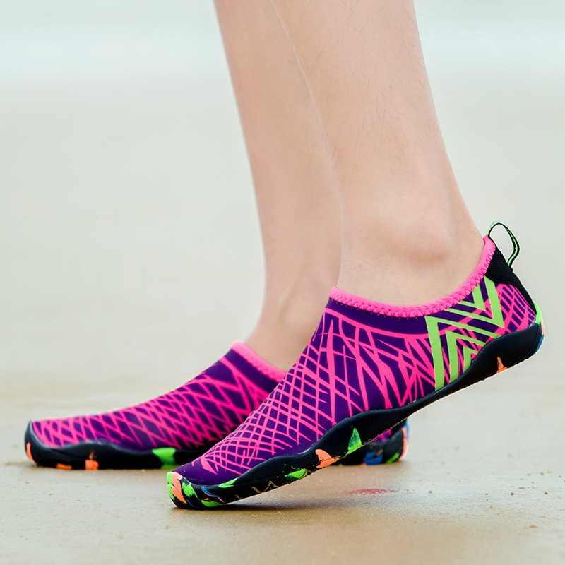 Unisex Sneakers Strand Water Schoenen Voor Zwemmen Schoenen Vrouwen Mannen Sneakers Duiken Barefoot Aqua Schoenen Slippers Voor Zee Schoenen