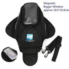Hot sale! 1 Pcs Black Motorcycle Oil Fuel Tank Bag Magnetic Motorcycle Saddle Packet
