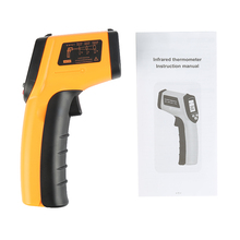 GM320 Laser LCD Digital IR Infrared Thermometer Temperature Meter Gun Point 50 380 Degree Non Contact