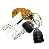 KPOP BTS Album Love Yourself Bangtan Boys New Album Keychain Acrylic Key Chain K POP Key Ring Pendant Case Degree Finger
