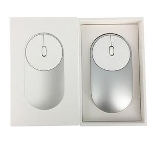 Image 5 - Xiaomi mi mouse portátil sem fio, mouse original, mousos, liga de alumínio, material abs, 2.4ghz, wifi, bluetooth 4.0, controle conexão