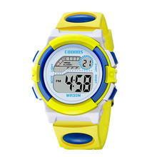 New Hot Sell 2019 Fashion LED Watch for Children Girls Rubber Digital Watches for Kids Boys Birthday Gift Wristwatch