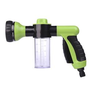 Image 2 - Neue Auto Waschen Schaum Grün Wasser Pistole Auto Washer Tragbare Durable Hochdruck Für Auto Waschen Düse Spray Kostenloser Versand
