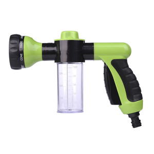 Image 2 - New Car Washing Foam Green Water Gun Car Washer Portable Durable High Pressure For Car Washing Nozzle Spray Free Shipping