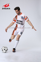 2016 New Fashion Men S Soccer Jersey Set Football Short Sleeve Training Suit Custom Service