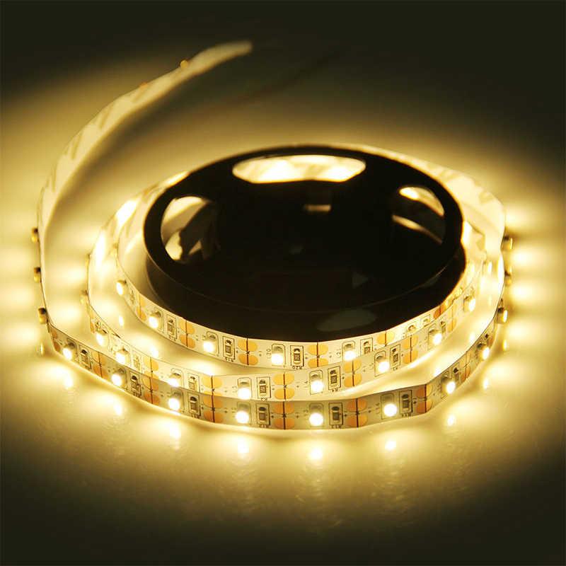 USB LED Strip TV Pencahayaan Latar Belakang DC 5 V/6 V SMD 3528 Flexible Light Lampu LED Perekat tape 50CM 1M 2M 3M 4M 5M