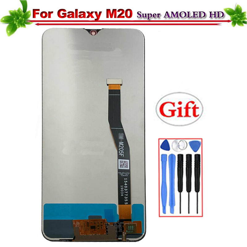 Tested for Samsung Galaxy M20 M205 M205F SM-M205F/DS LCD Display Touch Screen Digitizer Assembly for Galaxy M20 Lcd DisplayTested for Samsung Galaxy M20 M205 M205F SM-M205F/DS LCD Display Touch Screen Digitizer Assembly for Galaxy M20 Lcd Display