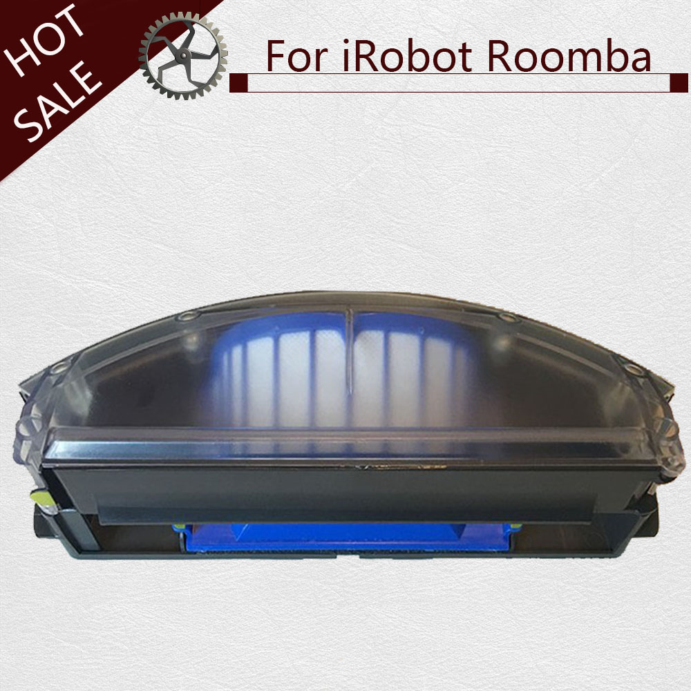 Ev Aletleri'ten Elektrikli Süpürge parçaları'de Ero Vac Toz Bin Filtre Aerovac kutusu toplayıcı Için iRobot Roomba 500 600 510 520 530 535 540 536 531 620 630 650 title=